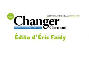 Édito d'Éric Faidy : Le temps est venu