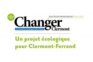 Un projet écologique pour Clermont-Ferrand