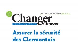 Assurer la sécurité des Clermontois