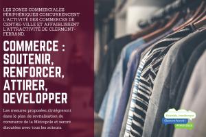 Commerce : Soutenir, renforcer, attirer, développer